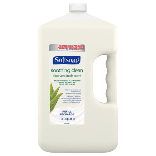 Softsoap 201900 Regular Aloe Liquid Hand Soap, 1 Gallon