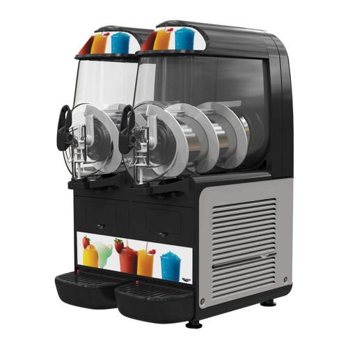 Vollrath VCBF128-37 Frozen Beverage Granita Machine, (2) 2.64 gallon Bowl
