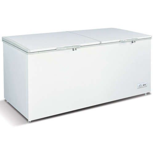 Omcan FR-CN-0600 76-Inch Chest Freezer, 20.3 cu. ft., Solid Hinged Lid