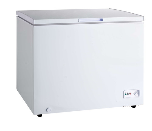 Omcan FR-CN-0282 44-Inch Chest Freezer, 10 cu. ft., Solid Hinged Lid