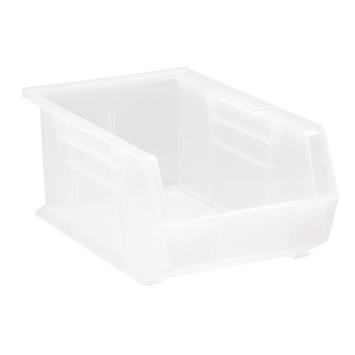 Quantum QUS241CL Bin, Stacking or Hanging, Clear