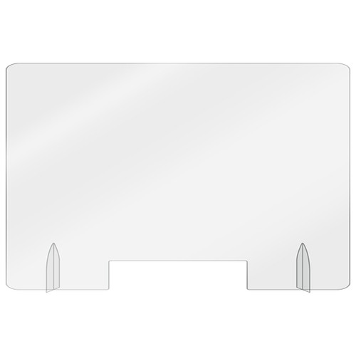 """Aarco FPS-2436 Protection Shield, with Pass-Thru, 24"""" x 36"""" x 1/4"""""""