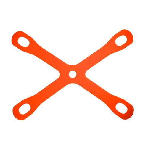 """Mercer Culinary M18930 Board Buddyz Orange Cutting Board Holder, 15-3/8"""" x 11-3/8"""""""