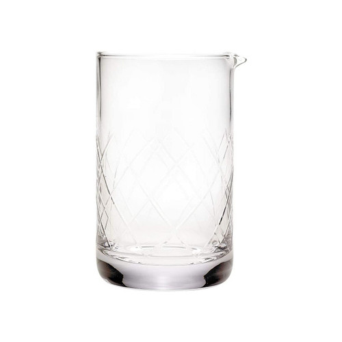 Mercer Barfly M37088 24 Oz. Mixing Glass with Pouring Spout