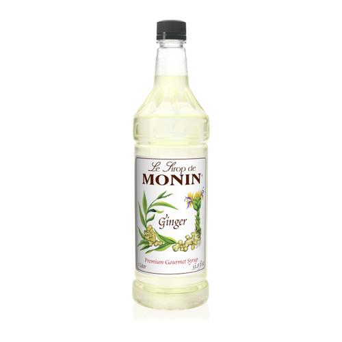 Monin M-FR018F Ginger Syrup, 1 Liter