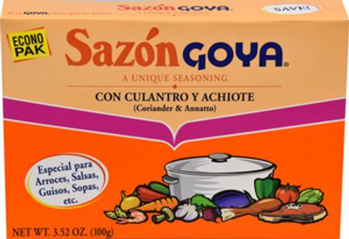 Sazon Goya Con Culantro & Achiote , 3.52 Ounce