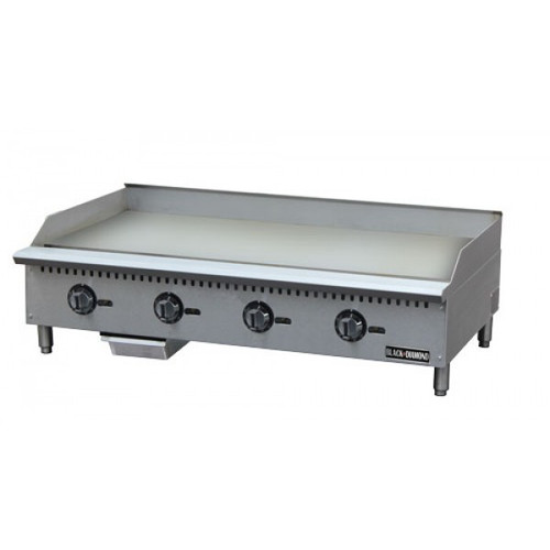 """Adcraft BDCTG-48T 48"""" Thermostatic Gas Griddle"""