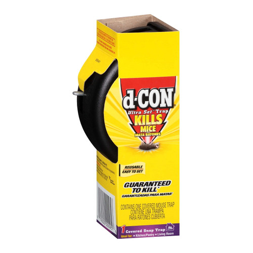 D-Con 00027 Covered Snap Mouse Trap