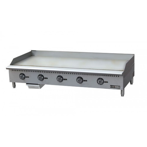 """Adcraft BDCTG-60T 60"""" Thermostatic Gas Griddle"""