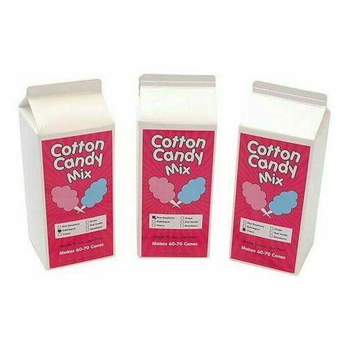 Winco 82005 Cotton Candy Sugar Floss, 3.25 lb., Pink Vanilla