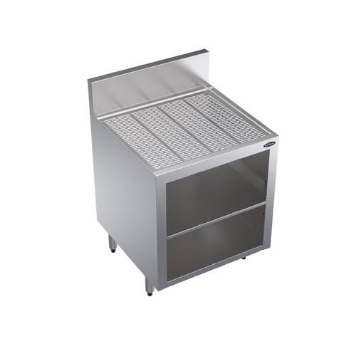 "Krowne KR24-GSB3 24"" Glass Storage Cabinet with Middle Shelf"