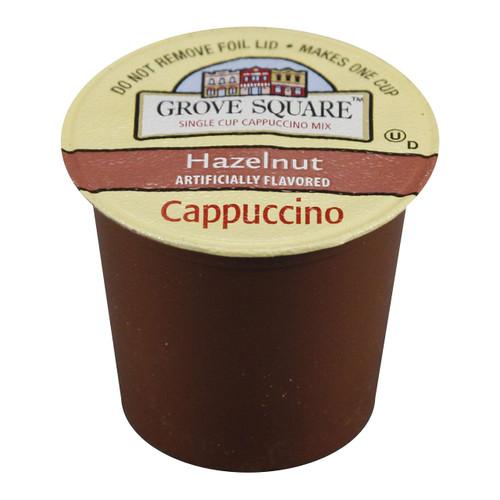 Grove Square Hazelnut Cappuccino Coffee Pods (24 Count/Box)