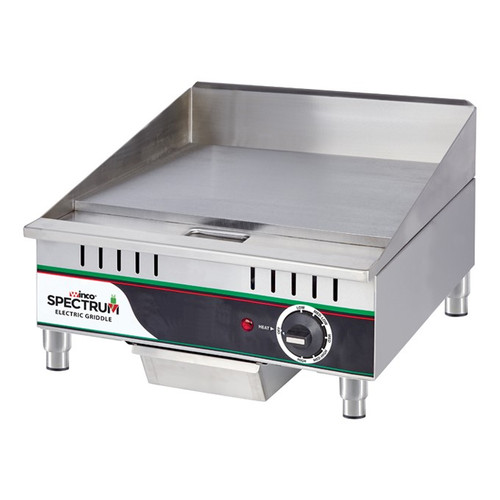 """Winco EGD-16M 16"""" Countertop Electric Griddle - 120V"""