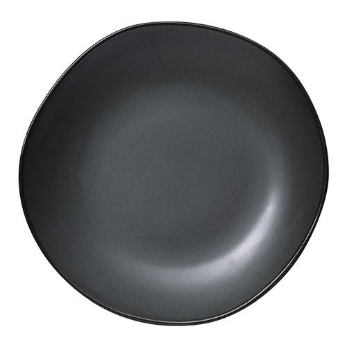 """Yanco CH-110 Champs 10.5"""" x 1/4"""" Plate, Porcelain, Matte Glaze (1 Dozen/Case)"""