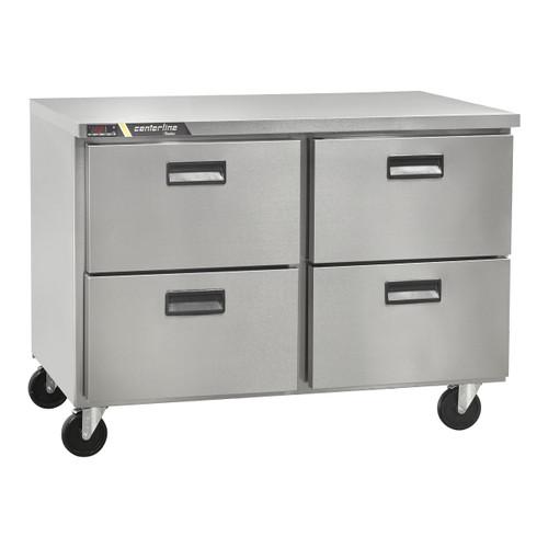 """Centerline CLUC-48F-DW 48"""" Undercounter Freezer, 4 Drawers"""
