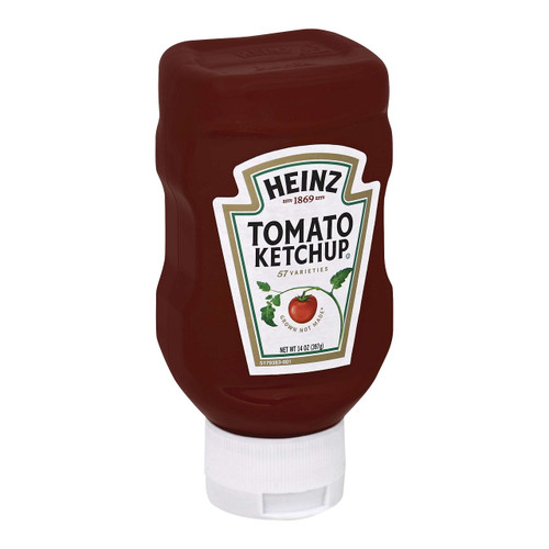 Heinz Top Down Squeeze Ketchup, 14 Ounce Bottle