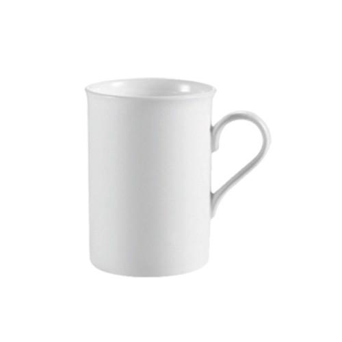 """CAC RCN-17 10 Oz. Super White Porcelain Mug, 3"""" Dia., 36/Case"""