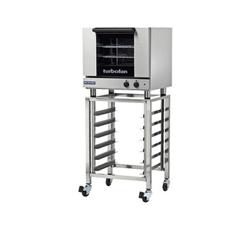 Moffat E23M3-SK23 3 Tray Half Size Electric Convection Oven, Manual Control with Stand