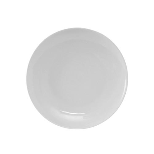 """Tuxton VPA-064 Round Plate, 6-1/2"""", R.E. Porcelain White, 36/Case"""