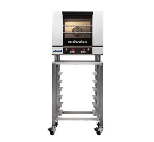 Moffat E23D3-SK23 3 Tray Half Size Electric Convection Oven, Digital Control - with Stand