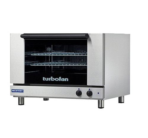 Moffat E27M2-T 2 Tray Full Size Electric Convection Oven, Manual Control, 220V