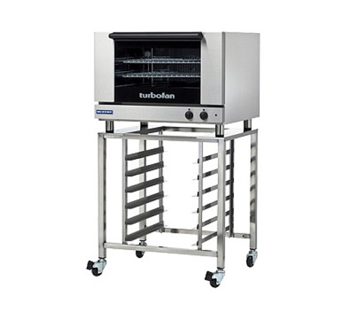 Moffat E27M2-SK2731U 2 Tray Full Size Electric Convection Oven, Manual Control - With SK2731U Stand