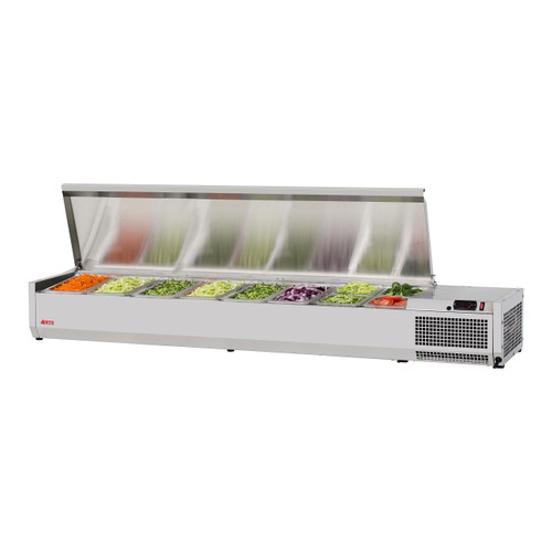 """Turbo Air CTST-1800-13-N 70"""" Counter Top Salad Table Refrigerator, 115V"""