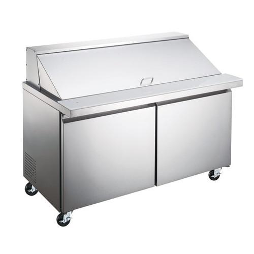 "Omcan PT-CN-1537-HC 60"" Mega Top Salad Sandwich Prep Table"