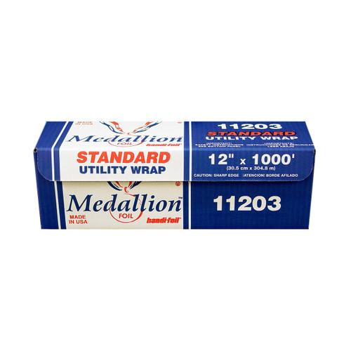 "Handi-Foil 11203 Medallion 12"" x 1000' Standard Duty Aluminum Foil Roll"