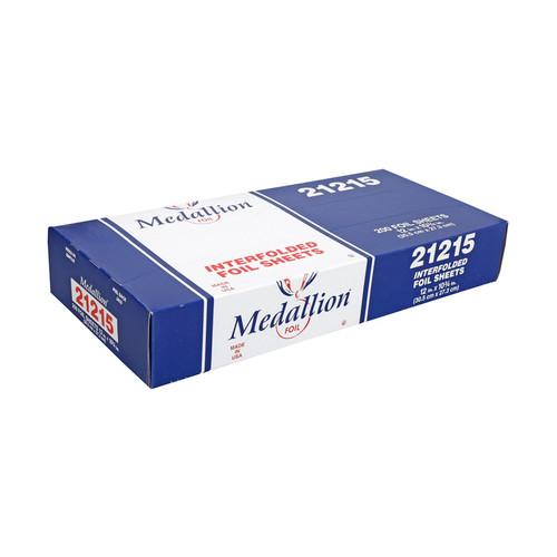 """Handi-Foil 21215 Medallion Aluminum Foil Pop Up Sheets, 12"""" x 10"""" (12 Box/Case)"""