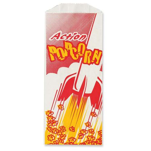 """Great Western 8"""" Popcorn Bags (1000/Case)"""