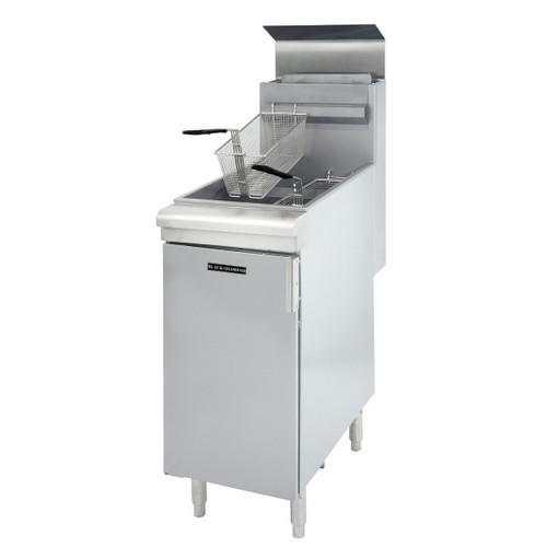 Adcraft BDGF-90/NG 40 lb Natural Gas Deep Fryer - 90K BTU