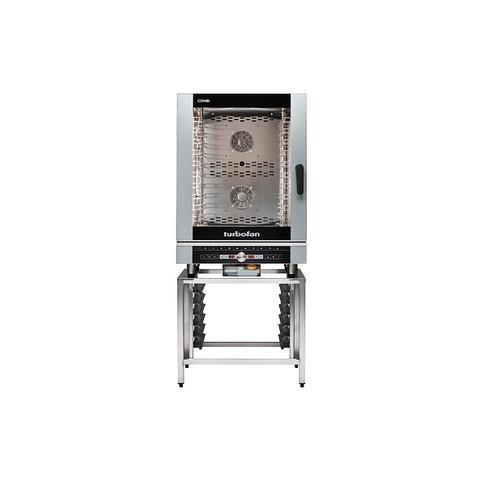 Moffat EC40D10-P 10 Tray Full Size Steam Pan Digital Electric Combi Oven - 208V