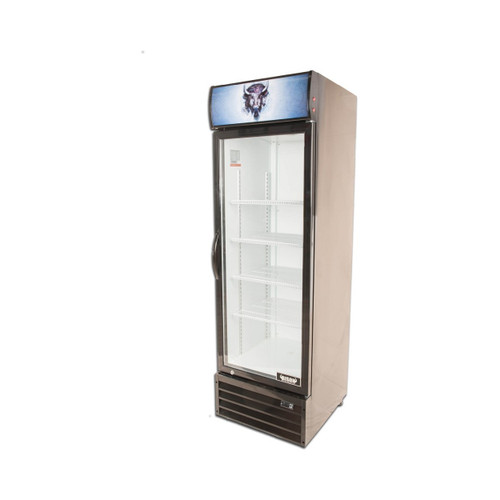 Bison BGM-15 1 Door Glass Reach-In Refrigerator (BGM-15)