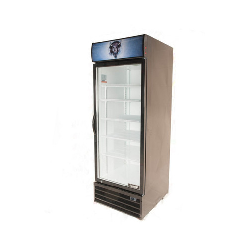 Bison BGM-21 1 Door Glass Reach-In Refrigerator (BGM-21)