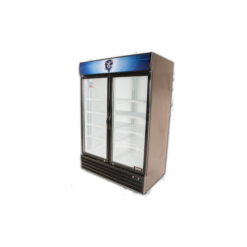 Bison BGM-49 2 Door Glass Reach-In Refrigerator (BGM-49)