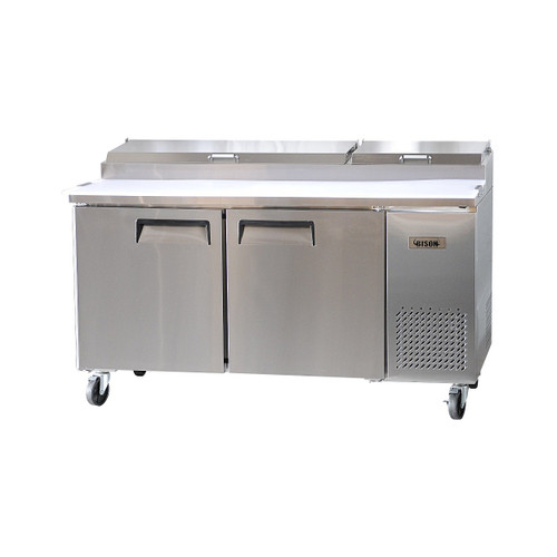 Bison BPT-67 2 Door Pizza Prep Table (BPT-67)