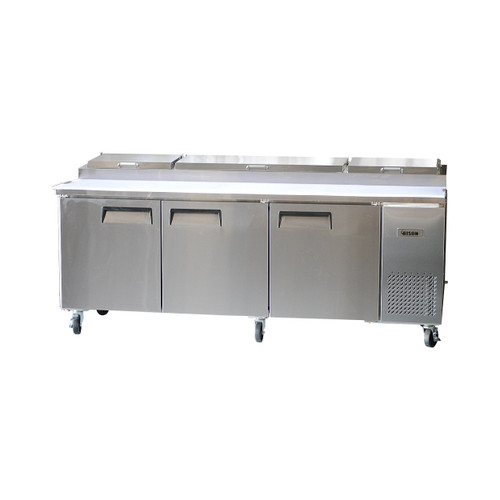 Bison BPT-93 3 Door Pizza Prep Table (BPT-93)