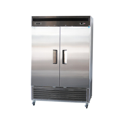 Bison BRF-46 2 Door Stainless Reach-In Freezer (BRF-46)