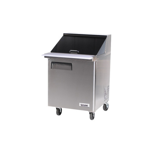 Bison BST-27-12 1 Door Mega Top Sandwich Prep Table (BST-27-12)