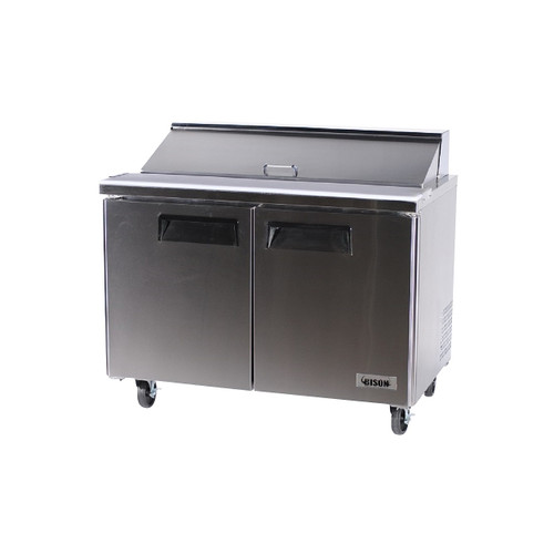 Bison BST-48 2 Door Sandwich Prep Table (BST-48)