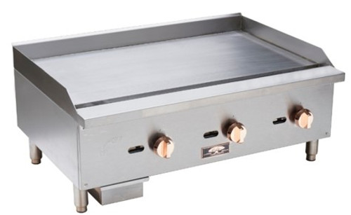 "Copper Beech CBMG-60 60"" Wide Manual Gas Griddle"