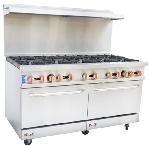Copper Beech CBR-10 10 Open Burner Gas Range w/ Oven (CBR-10)
