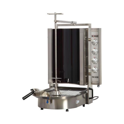 Inoksan PDE403N Electric, 12 Burner, Robax Glass