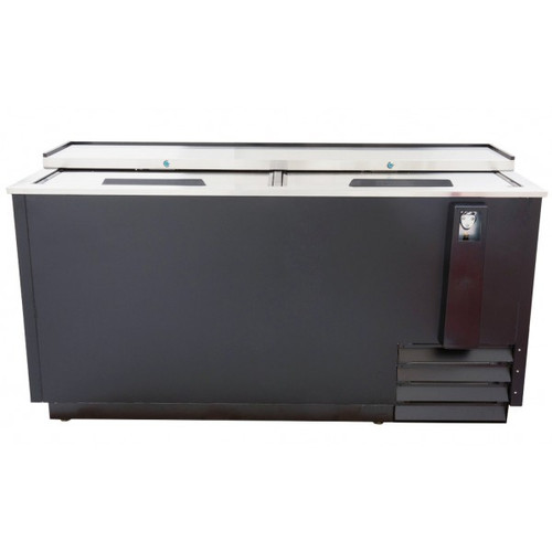 "Adcraft USBC-65 65"" Horizontal Bottle Cooler - 18 Cu. Ft."
