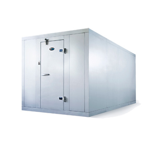 """Amerikooler QC061077**FBRC Walk-In Cooler, Modular, Remote, With Floor, Indoor, 6'W x 10'Lx 7'-7""""H, 3/4 HP"""