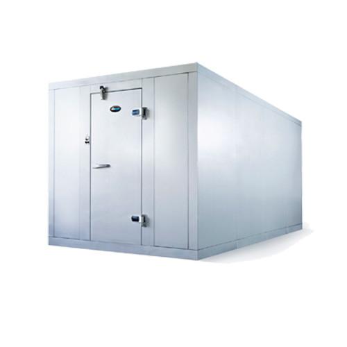 "Amerikooler QC061077**FBRC-O Walk-In Cooler, Modular, Remote, With Floor, Outdoor, 6'W x 10'Lx 7'-7""H, 3/4 HP"
