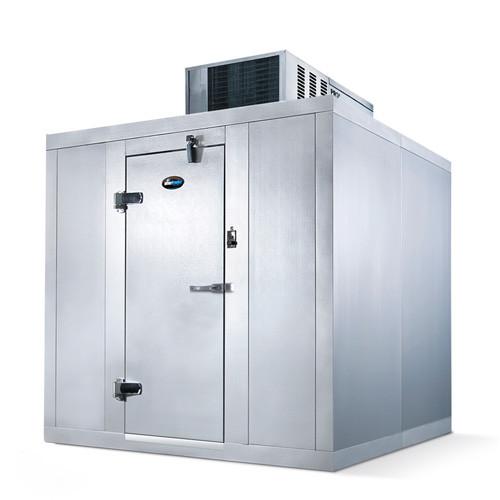 "Amerikooler QC061077**FBSC Walk-In Cooler, Modular, Self-Contained, With Floor, Indoor, 6'W x 10'Lx 7'-7""H, 3/4 HP"