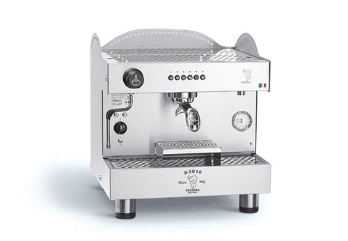 Bezzera B2016DE1IS2 Espresso Coffee Machine, Fully-Automatic, 110V, 1.3 gal