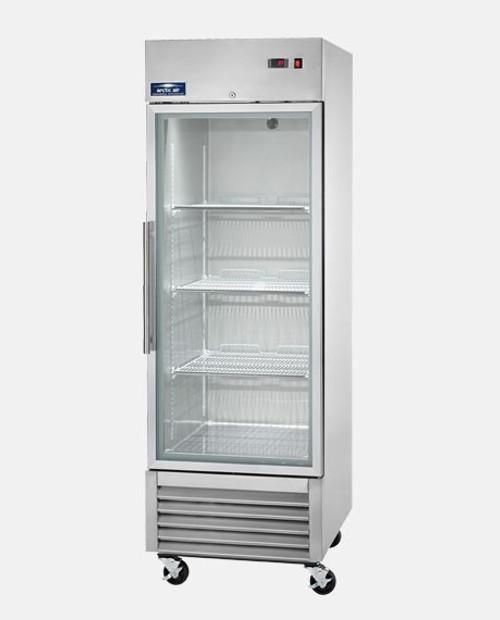 Arctic Air AGR23 Single Door Glass Reach-In Refrigerator